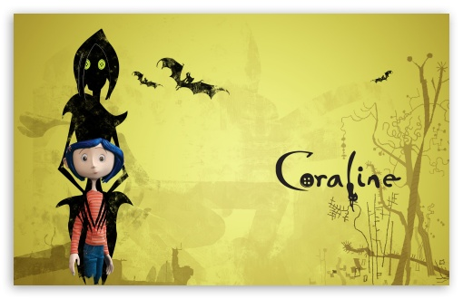 Dakota Fanning In Coraline I HD wallpaper for Wide 16:10 5:3 Widescreen WHXGA WQXGA WUXGA WXGA WGA ; HD 16:9 High Definition WQHD QWXGA 1080p 900p 720p QHD nHD ; Standard 3:2 Fullscreen DVGA HVGA HQVGA devices ( Apple PowerBook G4 iPhone 4 3G 3GS iPod Touch ) ; Mobile 5:3 3:2 16:9 - WGA DVGA HVGA HQVGA devices ( Apple PowerBook G4 iPhone 4 3G 3GS iPod Touch ) WQHD QWXGA 1080p 900p 720p QHD nHD ;