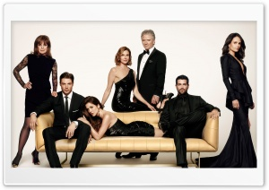 Dallas TV Series Cast HD Wide Wallpaper for Widescreen