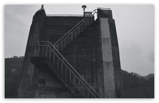 Dam Stairs Black And White HD wallpaper for Wide 16:10 5:3 Widescreen WHXGA WQXGA WUXGA WXGA WGA ; HD 16:9 High Definition WQHD QWXGA 1080p 900p 720p QHD nHD ; UHD 16:9 WQHD QWXGA 1080p 900p 720p QHD nHD ; Standard 4:3 5:4 3:2 Fullscreen UXGA XGA SVGA QSXGA SXGA DVGA HVGA HQVGA devices ( Apple PowerBook G4 iPhone 4 3G 3GS iPod Touch ) ; Tablet 1:1 ; iPad 1/2/Mini ; Mobile 4:3 5:3 3:2 16:9 5:4 - UXGA XGA SVGA WGA DVGA HVGA HQVGA devices ( Apple PowerBook G4 iPhone 4 3G 3GS iPod Touch ) WQHD QWXGA 1080p 900p 720p QHD nHD QSXGA SXGA ;