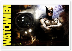Dan Dreiberg As Nite Owl II Watchmen HD Wide Wallpaper for Widescreen