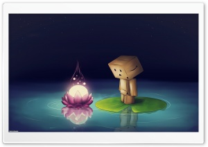Danbo Drawing HD Wide Wallpaper for Widescreen