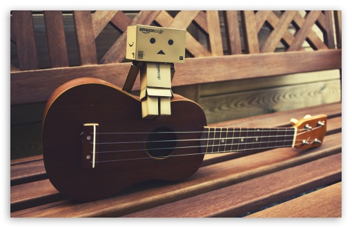 Danbo Guitar HD wallpaper for Wide 16:10 5:3 Widescreen WHXGA WQXGA WUXGA WXGA WGA ; HD 16:9 High Definition WQHD QWXGA 1080p 900p 720p QHD nHD ; Standard 3:2 Fullscreen DVGA HVGA HQVGA devices ( Apple PowerBook G4 iPhone 4 3G 3GS iPod Touch ) ; Mobile 5:3 3:2 16:9 - WGA DVGA HVGA HQVGA devices ( Apple PowerBook G4 iPhone 4 3G 3GS iPod Touch ) WQHD QWXGA 1080p 900p 720p QHD nHD ;
