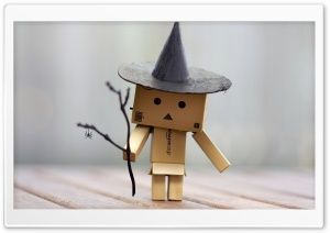 Danbo Halloween HD Wide Wallpaper for 4K UHD Widescreen desktop & smartphone