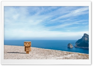 Danbo in Formentor HD Wide Wallpaper for Widescreen
