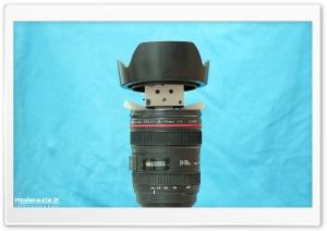 Danbo in lens Ultra HD Wallpaper for 4K UHD Widescreen desktop, tablet & smartphone