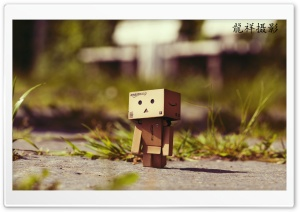Danbo On Tour HD Wide Wallpaper for 4K UHD Widescreen desktop & smartphone
