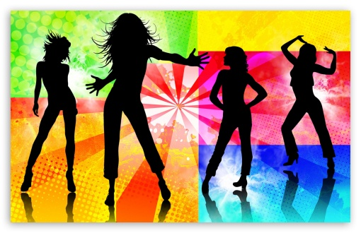 Dancing Girls Silhouette HD wallpaper for Wide 16:10 5:3 Widescreen WHXGA WQXGA WUXGA WXGA WGA ; HD 16:9 High Definition WQHD QWXGA 1080p 900p 720p QHD nHD ; Standard 5:4 3:2 Fullscreen QSXGA SXGA DVGA HVGA HQVGA devices ( Apple PowerBook G4 iPhone 4 3G 3GS iPod Touch ) ; Mobile 5:3 3:2 16:9 5:4 - WGA DVGA HVGA HQVGA devices ( Apple PowerBook G4 iPhone 4 3G 3GS iPod Touch ) WQHD QWXGA 1080p 900p 720p QHD nHD QSXGA SXGA ;