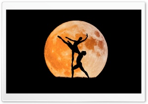 Dancing in the Moonlight HD Wide Wallpaper for 4K UHD Widescreen desktop & smartphone