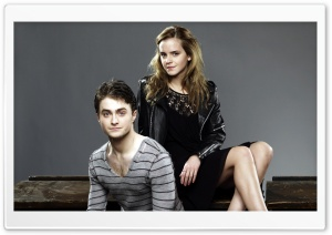 Daniel Radcliffe And Emma Watson HD Wide Wallpaper for Widescreen