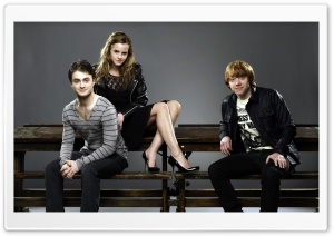 Daniel Radcliffe, Emma Watson And Rupert Grint Ultra HD Wallpaper for 4K UHD Widescreen desktop, tablet & smartphone
