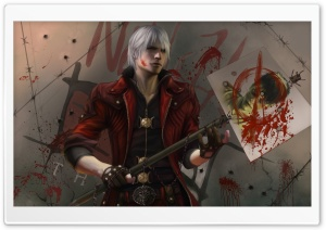 Dante Devil May Cry HD Wide Wallpaper for Widescreen