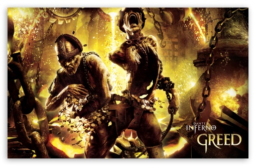 Dante's Inferno Greed HD wallpaper for Standard 5:4 Fullscreen QSXGA ...