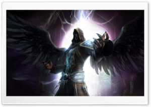 Dark Angel HD Wide Wallpaper for Widescreen