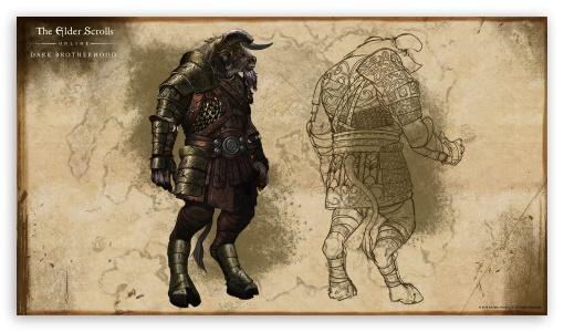 Dark Brotherhood Minotauro 4K UHD Wallpaper For 169 Ultra High