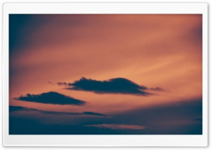 Dark Clouds at Sunset HD Wide Wallpaper for Widescreen