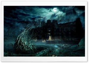 Dark Game Scene HD HD Wide Wallpaper for Widescreen