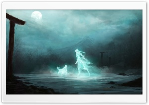 Dark Ghost HD Wide Wallpaper for Widescreen
