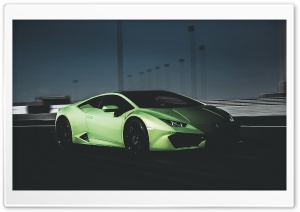 Dark Huracan HD Wide Wallpaper for Widescreen