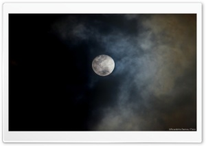 Dark Moon HD Wide Wallpaper for Widescreen