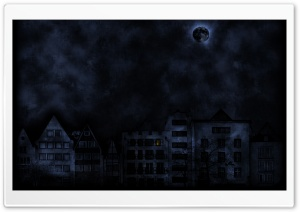 Dark Night HD Wide Wallpaper for Widescreen