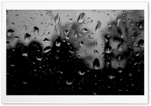 Dark Rainy Day HD Wide Wallpaper for Widescreen