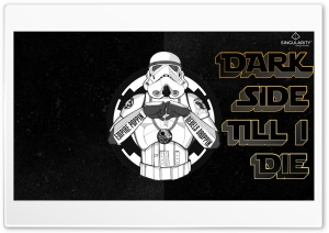 Dark Side Till I Die HD Wide Wallpaper for Widescreen