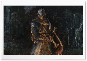 Dark Souls Remastered Knight HD Wide Wallpaper for 4K UHD Widescreen desktop & smartphone