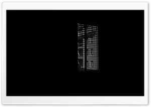 Dark Window HD Wide Wallpaper for Widescreen