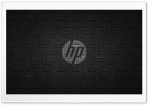 Dark With Hp logo Ultra HD Wallpaper for 4K UHD Widescreen desktop, tablet & smartphone