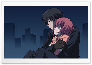 Darker Than Black Hei And Suou Pavlichenko HD Wide Wallpaper for 4K UHD Widescreen desktop & smartphone