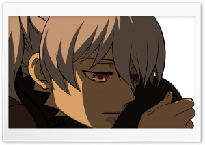 Darker Than Black, Yin HD Wide Wallpaper for Widescreen