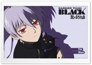 Darker Than Black Yin HD Wide Wallpaper for Widescreen