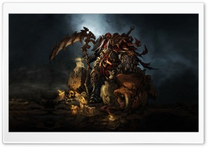Darksiders Ultra HD Wallpaper for 4K UHD Widescreen desktop, tablet & smartphone