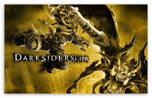 Darksiders HD wallpaper for Standard 5:4 Fullscreen QSXGA SXGA ; Wide 16:10 5:3 Widescreen WHXGA WQXGA WUXGA WXGA WGA ; HD 16:9 High Definition WQHD QWXGA 1080p 900p 720p QHD nHD ; Other 3:2 DVGA HVGA HQVGA devices ( Apple PowerBook G4 iPhone 4 3G 3GS iPod Touch ) ; Mobile VGA WVGA iPhone PSP Phone - VGA QVGA Smartphone ( PocketPC GPS iPod Zune BlackBerry HTC Samsung LG Nokia Eten Asus ) WVGA WQVGA Smartphone ( HTC Samsung Sony Ericsson LG Vertu MIO ) HVGA Smartphone ( Apple iPhone iPod BlackBerry HTC Samsung Nokia ) Sony PSP Zune HD Zen ;
