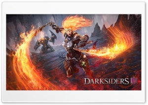 Darksiders 3 Flame Fury HD Wide Wallpaper for 4K UHD Widescreen desktop & smartphone