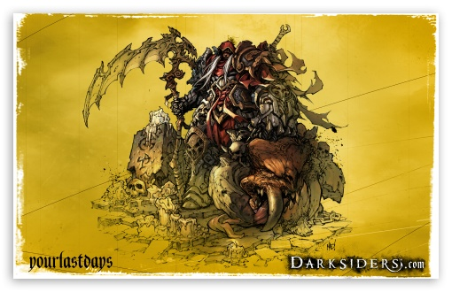 Darksiders HD wallpaper for Wide 16:10 5:3 Widescreen WHXGA WQXGA WUXGA WXGA WGA ; Standard 4:3 5:4 3:2 Fullscreen UXGA XGA SVGA QSXGA SXGA DVGA HVGA HQVGA devices ( Apple PowerBook G4 iPhone 4 3G 3GS iPod Touch ) ; iPad 1/2/Mini ; Mobile 4:3 5:3 3:2 5:4 - UXGA XGA SVGA WGA DVGA HVGA HQVGA devices ( Apple PowerBook G4 iPhone 4 3G 3GS iPod Touch ) QSXGA SXGA ;