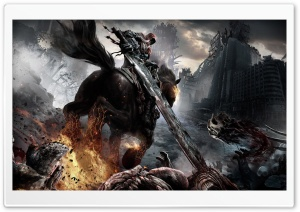Darksiders Horsemen HD Wide Wallpaper for Widescreen