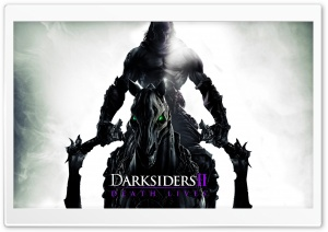 Darksiders II Death Lives Ultra HD Wallpaper for 4K UHD Widescreen desktop, tablet & smartphone