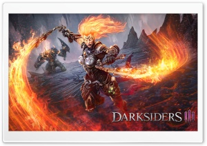 Darksiders III Flame Fury 2018 Video Game Ultra HD Wallpaper for 4K UHD Widescreen desktop, tablet & smartphone