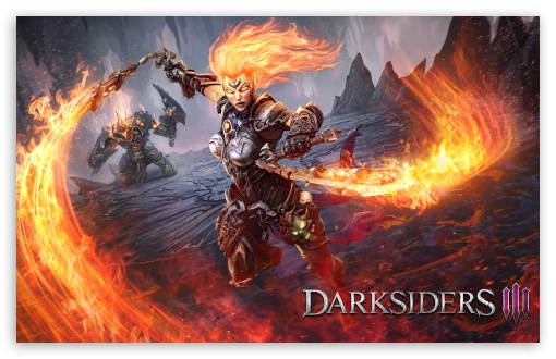 Darksiders III Flame Fury 2018 Video Game UltraHD Wallpaper for Wide 16:10 5:3 Widescreen WHXGA WQXGA WUXGA WXGA WGA ; 8K UHD TV 16:9 Ultra High Definition 2160p 1440p 1080p 900p 720p ; UHD 16:9 2160p 1440p 1080p 900p 720p ; Standard 3:2 Fullscreen DVGA HVGA HQVGA ( Apple PowerBook G4 iPhone 4 3G 3GS iPod Touch ) ; Mobile 5:3 3:2 16:9 - WGA DVGA HVGA HQVGA ( Apple PowerBook G4 iPhone 4 3G 3GS iPod Touch ) 2160p 1440p 1080p 900p 720p ;