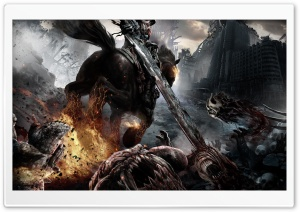 Darksiders Rider HD Wide Wallpaper for Widescreen
