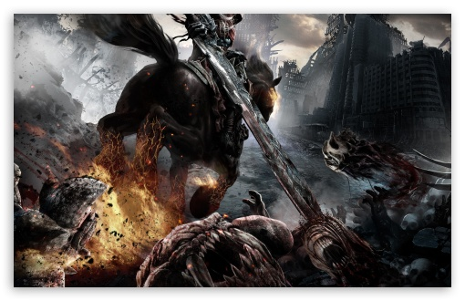 Darksiders Rider HD wallpaper for Wide 16:10 5:3 Widescreen WHXGA WQXGA WUXGA WXGA WGA ; Standard 4:3 5:4 3:2 Fullscreen UXGA XGA SVGA QSXGA SXGA DVGA HVGA HQVGA devices ( Apple PowerBook G4 iPhone 4 3G 3GS iPod Touch ) ; Tablet 1:1 ; iPad 1/2/Mini ; Mobile 4:3 5:3 3:2 16:9 5:4 - UXGA XGA SVGA WGA DVGA HVGA HQVGA devices ( Apple PowerBook G4 iPhone 4 3G 3GS iPod Touch ) WQHD QWXGA 1080p 900p 720p QHD nHD QSXGA SXGA ;