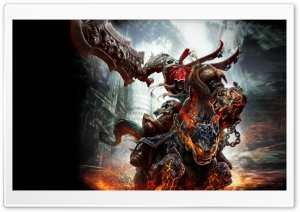 Darksiders War Art HD Wide Wallpaper for Widescreen
