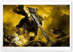 Darksiders War Rides HD Wide Wallpaper for Widescreen