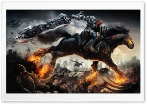 Darksiders War Rides Ultra HD Wallpaper for 4K UHD Widescreen desktop, tablet & smartphone