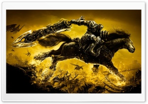 Darksiders Warrior HD Wide Wallpaper for Widescreen