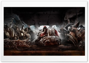 Darksiders Warrior Hell HD Wide Wallpaper for Widescreen