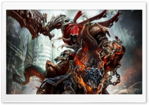 Darksiders Wrath Of War Ultra HD Wallpaper for 4K UHD Widescreen desktop, tablet & smartphone