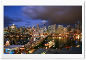 Darling Harbour-Sidney HD Wide Wallpaper for Widescreen