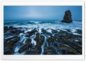 Davenport Beach, California HD Wide Wallpaper for Widescreen